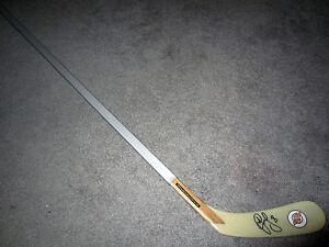 DAINIUS ZUBRUS New Jersey Devils SIGNED Autographed f/s Hockey Stick w/ COA