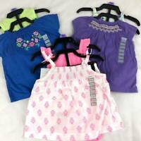 3 NEW Baby Girls Carters Outfits 3m Lot BABY SHOWER GIFT 0-3 Months