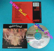 CD MOTORHEAD No sleep 'til hammersmith 1990 france CASTLE (Xs2) no lp mc dvd