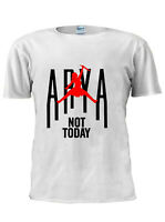 Game OF Thrones T-Shirt Arya Stark Not Today Men Women Unisex Tshirt M256