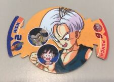 Dragonballz Fusion Fighter Dizk Tazo Number 10 Trunks Series 3