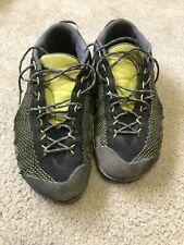 La Sportiva Tx2 Approach Shoes - Us 10.5, Eu 43.5 - Black & Yellow