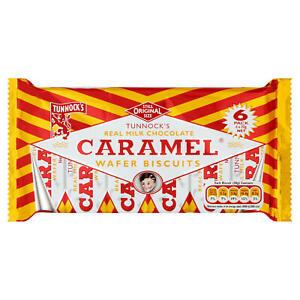 Tunnock's Snowballs - Milk Chocolate Caramel Wafers - 6 Pack - Vegetarian!