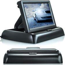 "4,3"" LCD Auto Monitor für Rückfahrkamera klappbar TFT Display Bildschirm LKW KFZ"