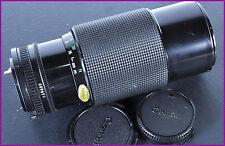 Objectif zoom canon FD  70 /  210 mm  1: 4