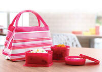 TUPPERWARE SLING A BLING CONTAINS 3 BOWLS + 1 BAG (AIR & WATER TIGHT)