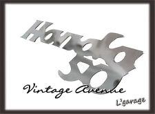 [LG245] HONDA C50 C100 C102 LEGSHIELD FRONT COVER CHROME EMBLEM