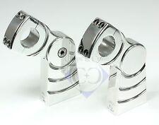 Riser/soporte de manillar-pullback XX - 120 mm alta-m12 - 1 pulgadas-aluminio pulido