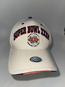 Vintage Super Bowl XXXV (35) 2001 Ravens Vs. Giants Strapback Hat NWT Twins Ent