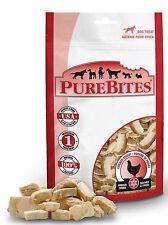 PureBites 100% USDA Freeze Dried Chicken Breast Dog Treats 1.4oz