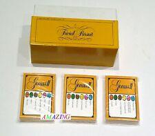 TRIVIAL PURSUIT GENUS II EDITION 50 QUESTION CARDS - ICE BREAKERS / PUB QUIZ