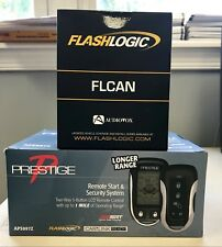 Prestige Aps997Z 2-Way Remote Start & Alarm+ Flcan Bypass Bundle 2 pcs Brand New