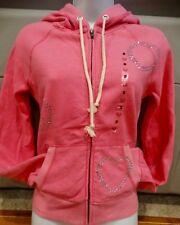 NEW Victorias Secret Pink BLING Pink Zip up hoodie. NWT