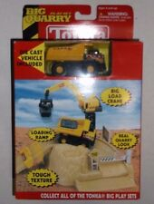 Tonka Big Quarry Play Set No. 11112 Dump Truck Load Crane Ramp Diecast BRAND NEW