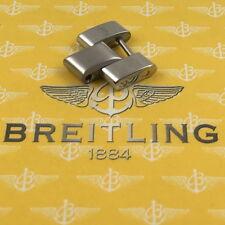 Breitling piloto/Shark-acero elemento 18mm 1990er años