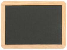 ECHTE! Schiefertafel Schreibtafel  22x17 cm Schultafel Kreidetafel m. Holzrahmen