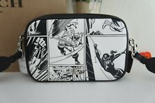 NWT Coach 1908 X Marvel Jes Crossbody with Comic Book Printed Shoulder Bag $350