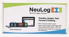 Neulog Galvanic Skin Response Sensor, 10 nS Resolution, 100 S/sec Maximum Nul217