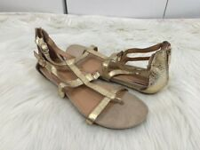 NEW Reaction KENNETH COLE 'Lost Time' Gladiator Thong Sandals, 9 - Metallic Gold