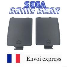 Lot de 2 Cache pile noir GAME GEAR GG neuf [Battery cover left / right] black
