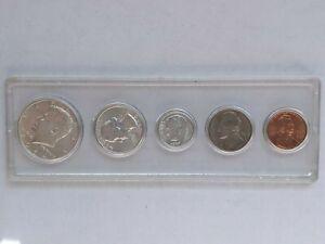 1964 Mint Set 90% Silver Kennedy Washington UNC BU Uncirculated Whitman