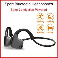 Bone Conduction Earphone Headphone Bluetooth Headset Stereo Sound Ear hook Wear