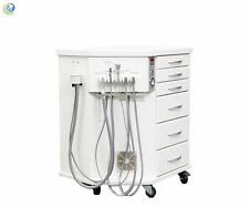 DENTAL ORTHODONTIC PORTABLE DELIVERY SYSTEM CART UNIT HIGH SUCTION CUSTOMIZABLE