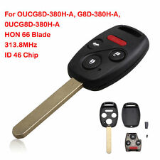 Remote Key Keyless Entry For Honda Accord 2004-2007 46 Chip HON 66 Replacement