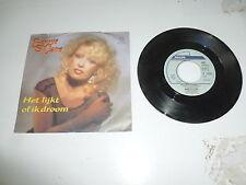 """BONNIE ST. CLAIRE - Het lijkt of Ik Droom - 1988 Dutch 7"""" Juke Box Vinyl Single"""