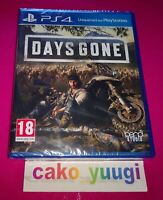 DAYS GONE PS4 SONY PS4 NEUF SOUS BLISTER VERSION 100% FRANCAISE