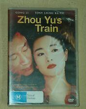 ZHOU YU'S TRAIN R4 SEALED RARE CHINESE DVD Gong Li Tony Leung Venice Film winner