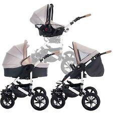 Bebebi myVARIO 3 in 1 Kombi Kinderwagen Komplettset Luftreifen Kindersitz AF1