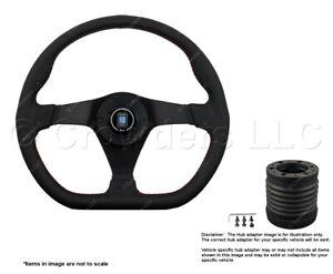 Nardi Gara Sport 350mm Steering Wheel + MOMO Hub for Hummer 6040.35.2092+4513