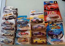 HOT WHEELS lot x 12 zamac Chevrolet trucks Ferrari racer mainline color shifters