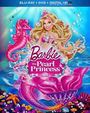Barbie The Pearl Princess Blu-ray/DVD, 2014, 2-Disc Set, Includes Digital HD