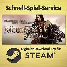 ⭐️ Mount & Blade - Warband - PC - STEAM Download Key - BLITZVERSAND ⭐️