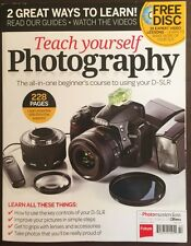 Teach Yourself Photography Beginners Course D-SLR 2014 FREE SHIPPING