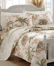 Tommy Bahama Home Bonny Cove Full/ Queen Quilt And Two Shams Set New Nwt (Have 3