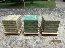 O scale pallet load of Quikrete sacks 1/48  set 3 Portland ,Stuco,resurfacer