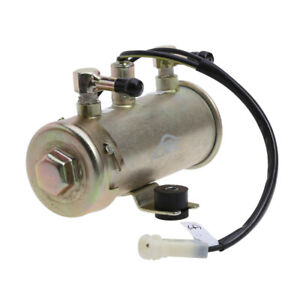 Universal 12V Electric Fuel Petrol Pump Kit Low Pressure HRF 027 Inline Pump