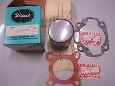 KAWASAKI NOS WISECO BIG BORE PISTON & RINGS +2.00mm P142 P8 + GASKETS F6 F6A F6B