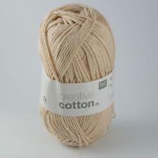 Rico Creative Cotton DK - 100% Cotton Knitting & Crochet Yarn - Powder 006