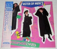 """Japanese THOMPSON TWINS Sister Of Mercy 12"""" EP Record"""