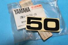 NOS YAMAHA 1980 YZ50 EMBLEM PART# 3R0-21781-01