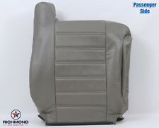 2004 2005 Hummer H2 SUV SUT -Passenger Side Lean Back Leather Seat Cover Gray