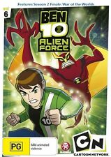 Ben 10 - Alien Force : Vol 6 (DVD, 2010)