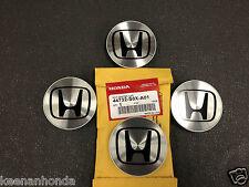 Genuine OEM Honda Aluminum Wheel Center Cap Set of (4) Four