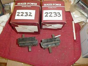 NORS 1963-4 FORD GALAXIE CUSTOM 223 6 CYL MOTOR MOUNTS
