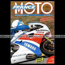 FRANCE MOTO N°242 HONDA VFR 750 F & RC 30, YAMAHA OW 01, JACQUES INSERMINI 1989