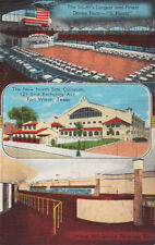 Vintage Postcard NEW REMODEL North Side Coliseum Fort Worth Texas TX Bar View
